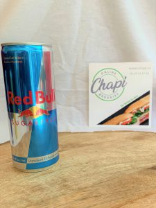 Red bull sugar free Chapi